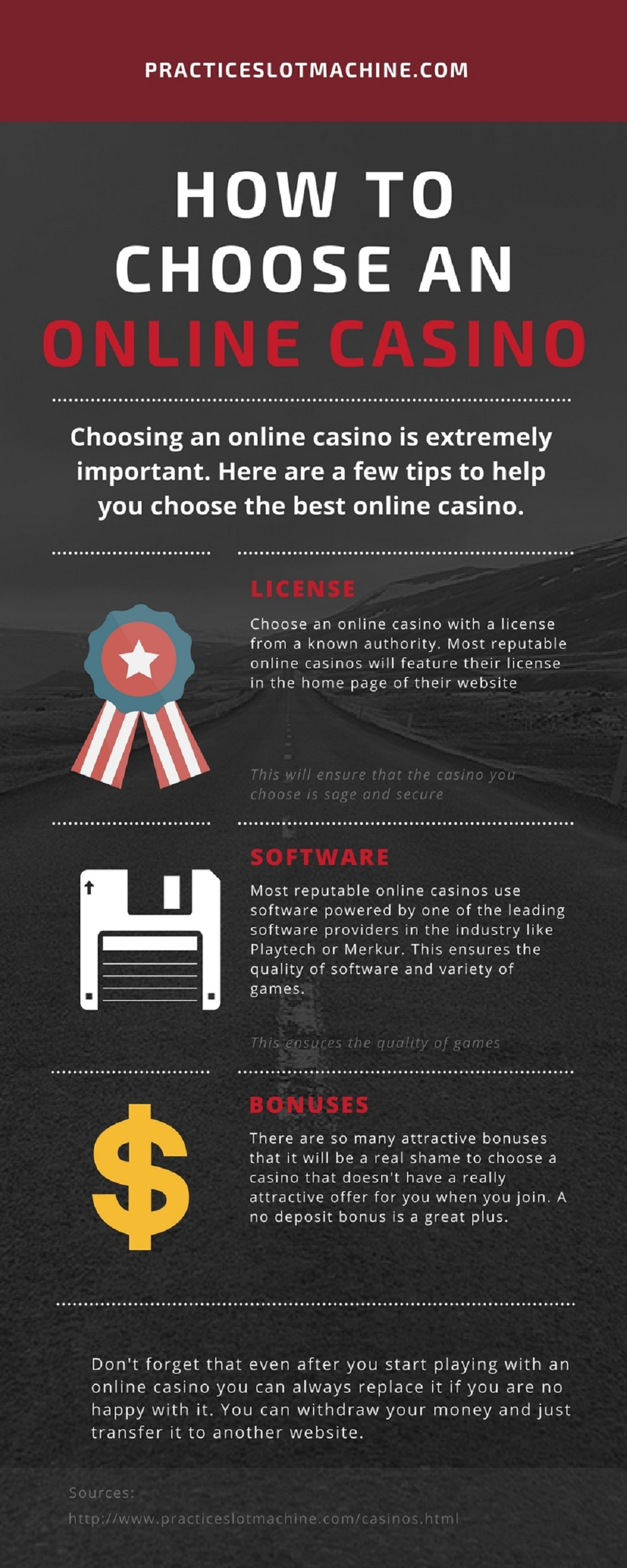 How to choose Online Casino